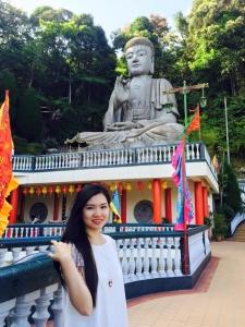 Thu Trang - Hiện đang học chương trình của ĐH Lancaster tại Sunway
